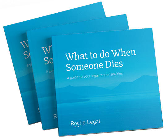 What to do when someone dies book