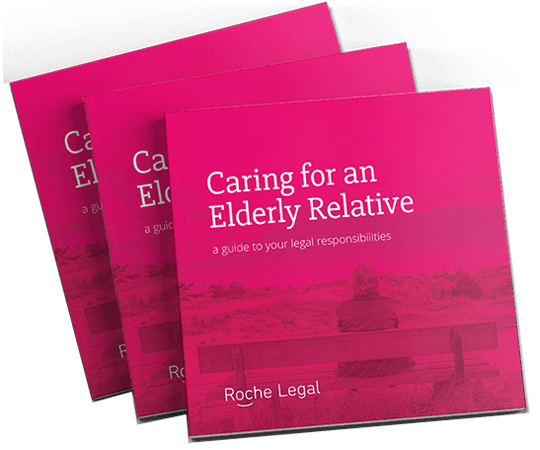 Caring for elderly relative book