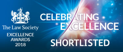 Law Society Celebrating Excellence Shortlisted