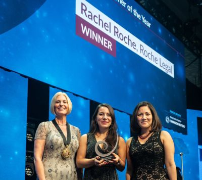 Rachel Roche Receives Law Society Award
