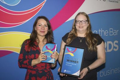 Raising The Bar Winners - Rachel & Melanie