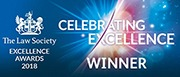 Law Society Excellence Winner