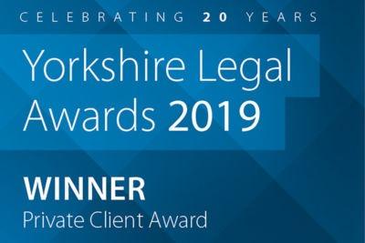 Roche Legal Private Client Award Winner