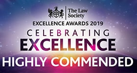 The Law Society Excellence Awards Highly Commended